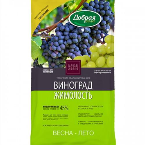 """Удобрение сухое """"Добрая Сила"""" для винограда и жимолости минеральное 0,9 кг"""