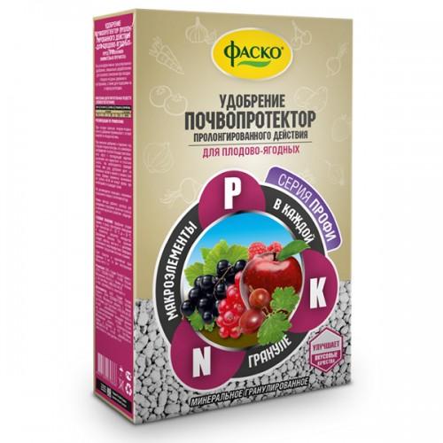 """Удобрение сухое """"Почвопротектор"""" минеральное Для плодово-ягодных гранулированное 1 кг"""